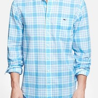 Men's Vineyard Vines 'Tucker' Classic Fit Plaid Sport Shirt,