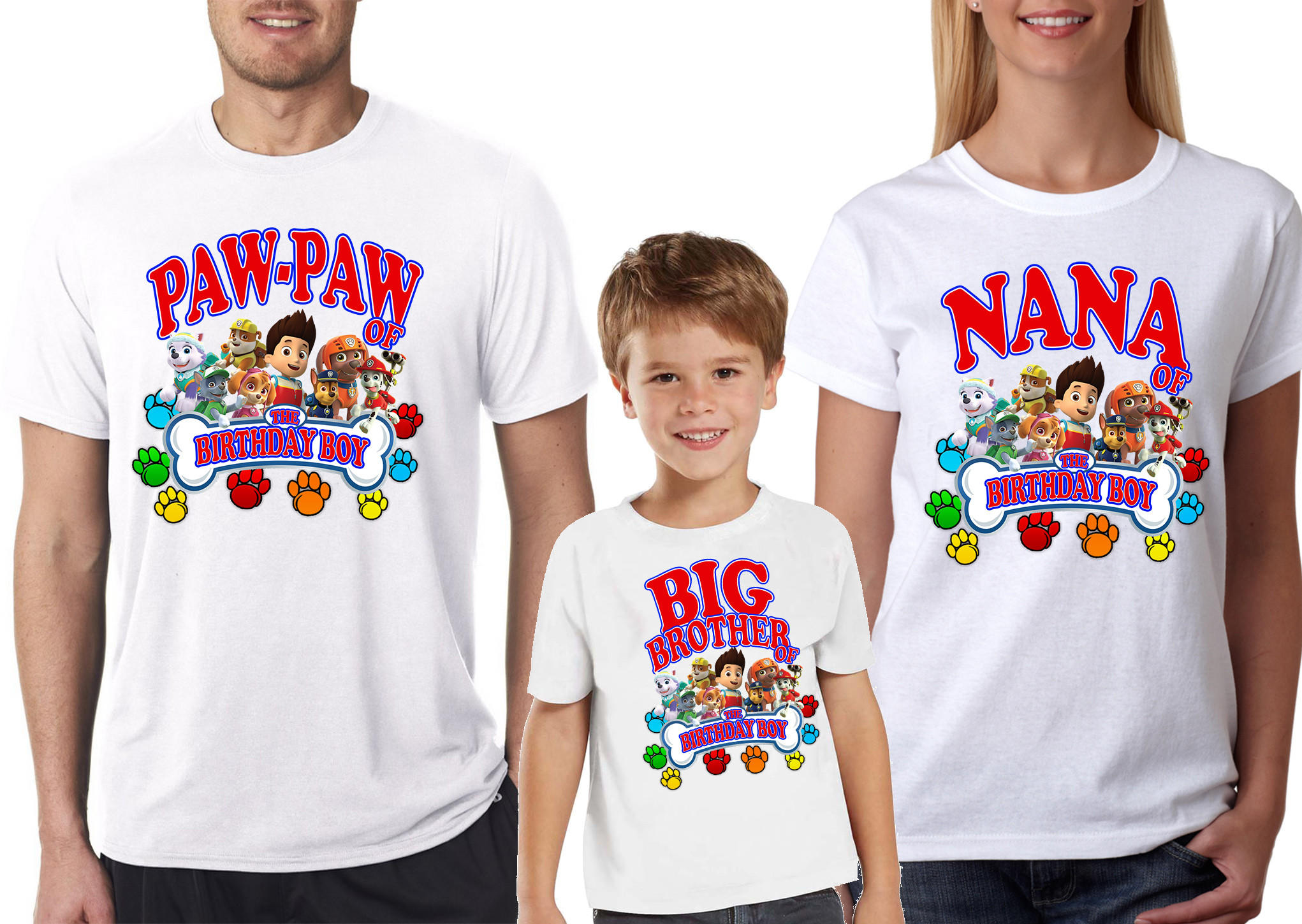 Paw Patrol Birthday Custom Family Shirts For Boys Girls Also Available Kids And P