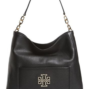 Tory Burch 'Britten' Leather Hobo | Nordstrom
