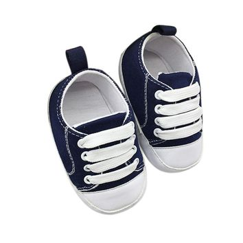 Anti-Slip Soft Canvas Shoes For Toddler baby
