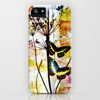 Wild & Free iPhone & iPod Case by Ally Coxon