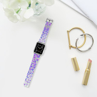 purple confetti watch Apple Watch Band (38mm) by Marianna | Casetify