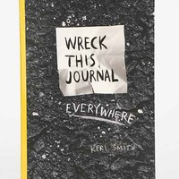 Wreck This Journal Everywhere Travel-Size Edition By Keri Smith- Assorted One