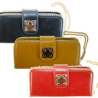Chain Zipper Wallet