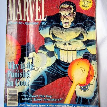 Marvel Year in Review '92 comic book by vintagehomage on Zibbet