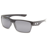 Oakley Twoface Sunglasses Polished Black/Black Iridium One Size For Men 24049210001