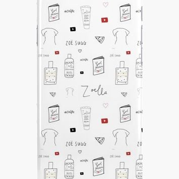 'Zoe Sugg - Zoella' iPhone Case/Skin by okaycats