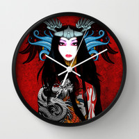 CHICA DRAGON Wall Clock by WEWEX