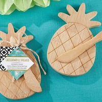 Pineapple Cheeseboard And Spreader
