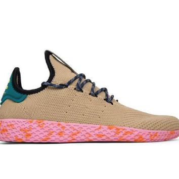 Adidas Originals X Pharrell Williams Tennis Hu Tan By2672 af58273679