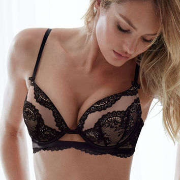 Lace Plunge Push-Up Bra - The Victoria's Secret Designer Collection - Victoria's Secret