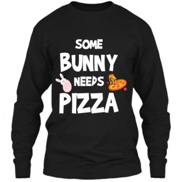 Cute Gift Ideas For Easter. Costume For Pizza Lover. LS Ultra Cotton Tshirt