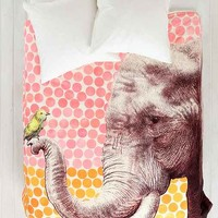Garima Dhawan For DENY New Friends Duvet Cover- Orange