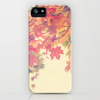 Hello Autumn  iPhone & iPod Case by Laura Ruth
