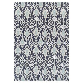 Ikat Blue Outdoor Rug - Threshold™