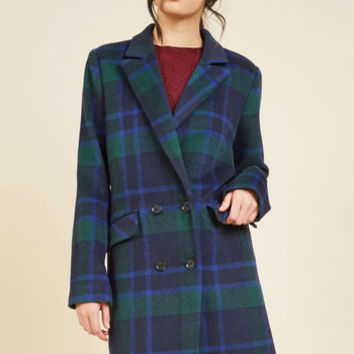 What's Said is Ahead Coat