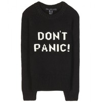 marc by marc jacobs - don't panic merino wool sweater