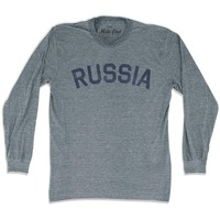 Russia City Vintage Long Sleeve T-shirt