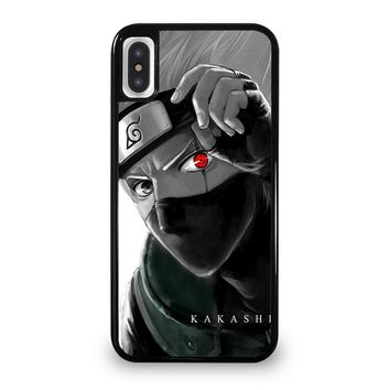 SHARINGAN EYE KAKASHI iPhone 5/5S/SE 5C 6/6S 7 8 Plus X/XS Max XR Case Cover