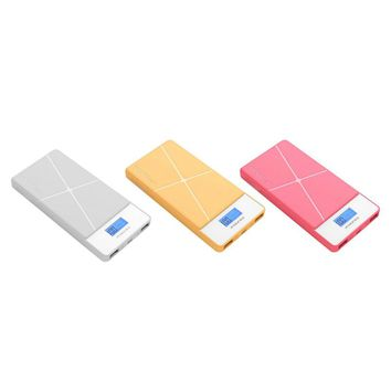 Pineng-983 Power Bank 10000mAh LED External Battery Portable Mobile Dual USB Powerbank Carregador Power Bank