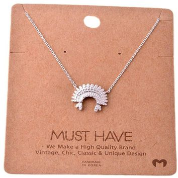 Must Have-Chief  Necklace, Silver