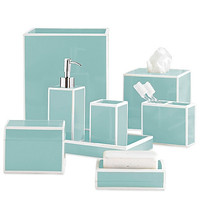Soho Luxury Bath Accessories | Blue
