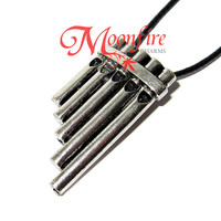 PETER PAN Pan Flute Musical Pipes Necklace