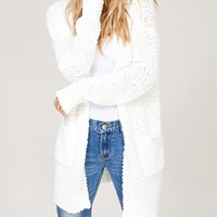 Winter White Cardigan