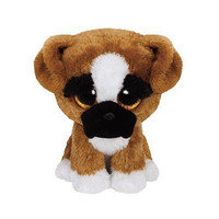 TY Plush Beanie Boos Buddy BRUTUS The Boxer Medium
