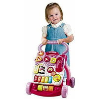 Baby Toddler Infant Learn to Walk Push Toy Begining Walking Practice Play Girl