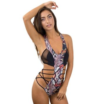 Swimsuit Womens Swimming Suit Bikini Beach Bather Women's Piece Of Swimsuit Animal Print Bikini Swimwear Beachwear Bathing Suit