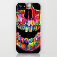 Stylish Chromatic Skull iPhone 4/4s Case from 1Point99.com