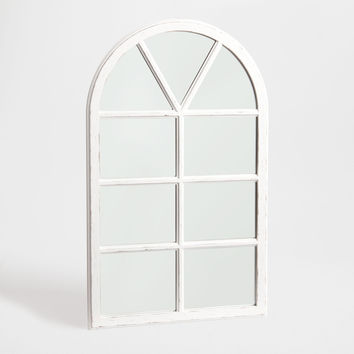 Window-shaped wooden mirror - Mirrors - Decoration | Zara Home United Kingdom