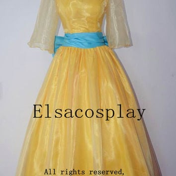 Deluxe Style - Anastasia Dress, Anastasia Costume, Princess Anastasia Cosplay Costume Halloween Costume