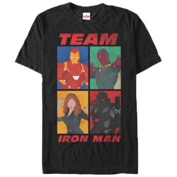 Captain America Civil War Team Iron Man T-Shirt