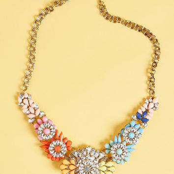 Life's But a Gleam Statement Necklace