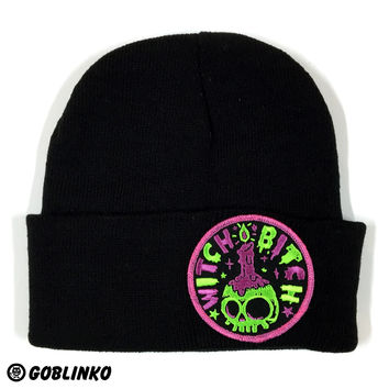 GOBLINKO PATCH HAT - WITCH BITCH
