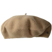 LAUREN Ralph Lauren Basque Beret (Camel) Traditional Hats