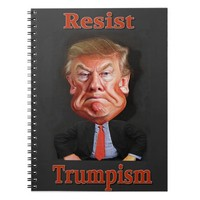 resist trump notebook