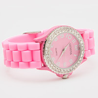 Just In Time Watch - Pink