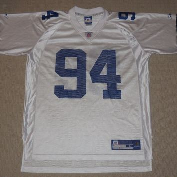 NFL Football Vintage Dallas Cowboys DeMarcus Ware #94 Jersey Large Reebok RBK