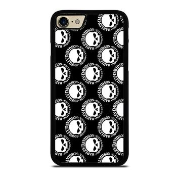 HARLEY DAVIDSON SKULL COLLAGE iPhone 7 Case Cover