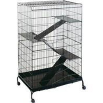 Prevue Pet Products Inc - Steel Ferret Cage With Casters