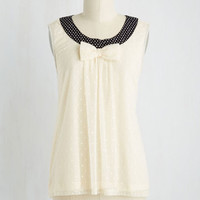 Mid-length Sleeveless A Sweet Zeal Top