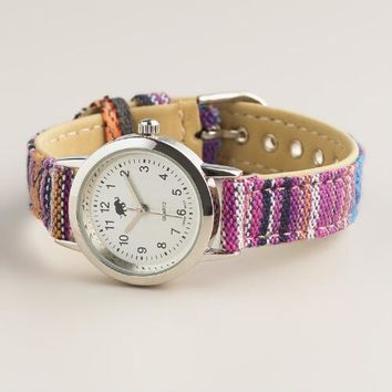 Tribal Fabric Watch - World Market