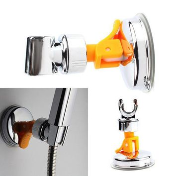 ICIK272 New Adjustable Attachable Rotatable Chromed Shower Head Holder with Suction Bracket #67264