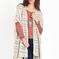 Tavern Fringe Knit Cardi - $19.99 : ThreadSence.com, Your Spot For Indie Clothing & Indie Urban Culture