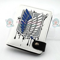 Attack on Titan Scouting Legion White Wallet For Sale