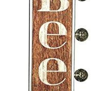 Craft Beer Sign, Illuminated By Battery Powered Large LED Lights,  Marquee Display, Has A Distressed Finish