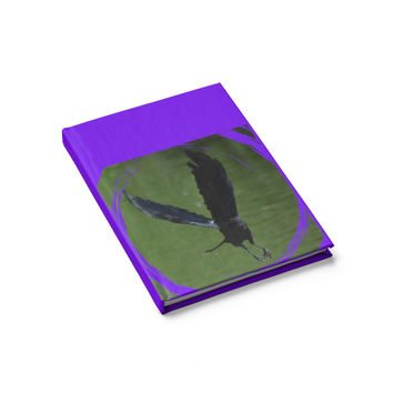 As the Crow Flies- Blank book, unlined